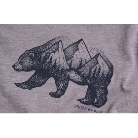 United By Blue Grizzly Top sin Mangas Niños, steel grey